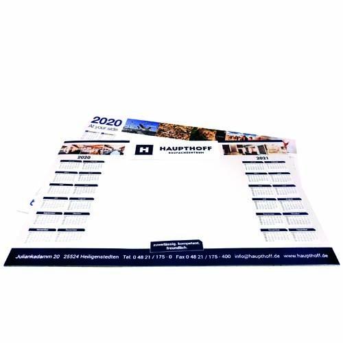 Mar-6041 Schreibunterlage am Fuß oder Kopf geleimt | 50 Blatt | Druck auf jedem Blatt