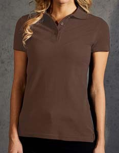 E4005F Polo Shirt Damen Kurzarm