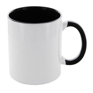Tasse Carola weiß-schwarz