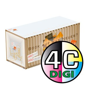 Container-Riesennotizwürfel 15 x 8 x 8 cm