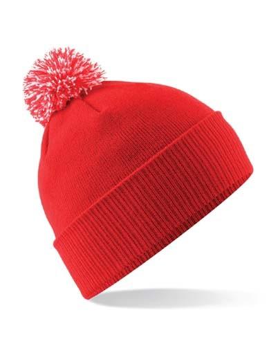 Junior Snowstar® Beanie_Bright-Red_Off-White