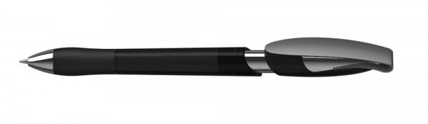 Kugelschreiber Rodeo grip Mmn schwarz transparent