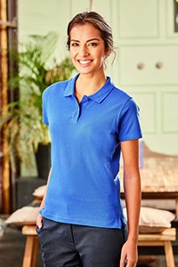 Z577F Polo Shirt Damen Kurzarm