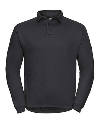 Z012 Workwear Collar Sweatshirt_Black