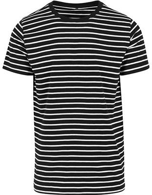 Stripe Tee Black_White