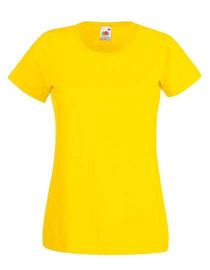 F288N T-Shirt Damen Rundhals Kurzarm