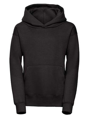 Children´s Hooded Sweatshirt_Black