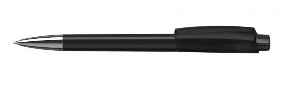 Kugelschreiber Zeno  Mn schwarz transparent