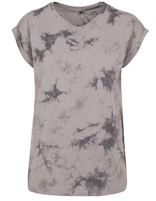 Ladies` Batik Dye Extended Lightgrey-Grey