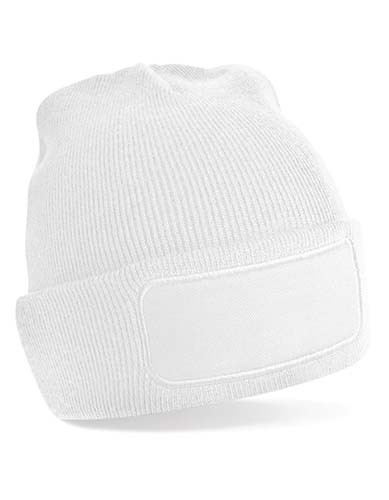 Original Patch Beanie_White
