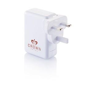 Reiseadapter mit 4fachem USB