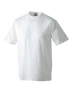 JN002 T-Shirt Rundhals Nackenband Kurzarm