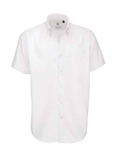 Shirt Oxford Short Sleeve /Men_White