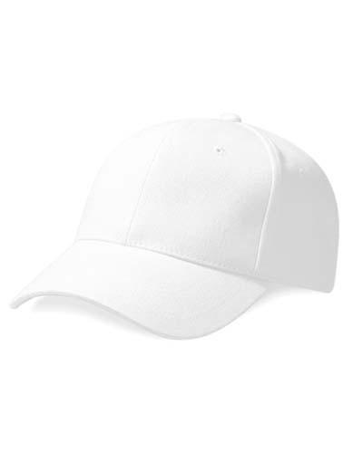 Pro-Style Heavy Brushed Cotton Cap_White