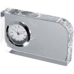 Mac-27503 Glasblock mit Uhr
