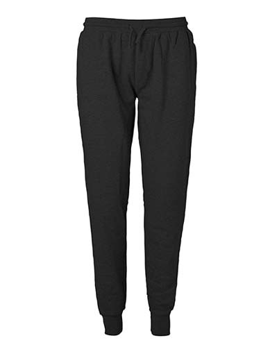Sweatpants with Cuff and Zip Pocket_Black