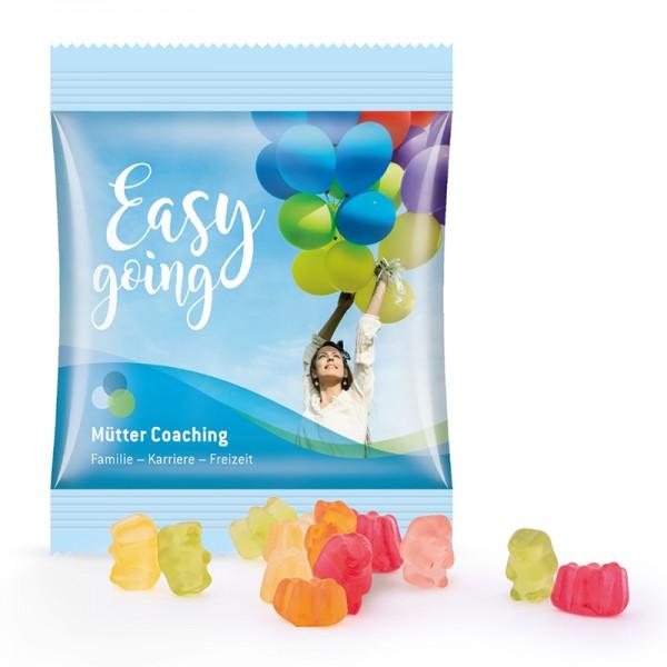 Zuckerreduzierte Gummibärchen Minitüte