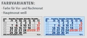 Ec-250 JUNIOR-3 | flatbarer 3-Monats-Kalender | deutsch-mehrsprachig