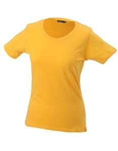 JN901 T-Shirt Damen Rundhals Kurzarm