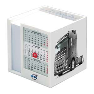 Zettelspeicher Multi mit Kalender 107 x 107 x 104 mm