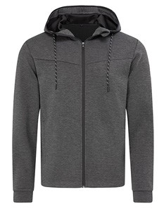 Recycelte Tauchjacke Anthra-Heather