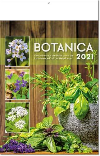 Bildkalender deutsch BOTANICA mit Klappfälzel