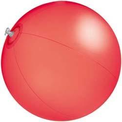 Strandball Segmentlänge 40 cm_rot