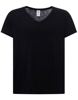 Curves Slub T-Shirt Lady Black