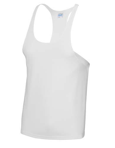 JC009 Cool Muscle Vest_Arctic-White