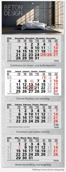 JUNIOR-4 | flatbarer 4-Monats-Kalender