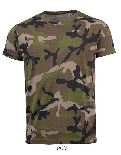 L-L133 Men`s Camo T-Shirt