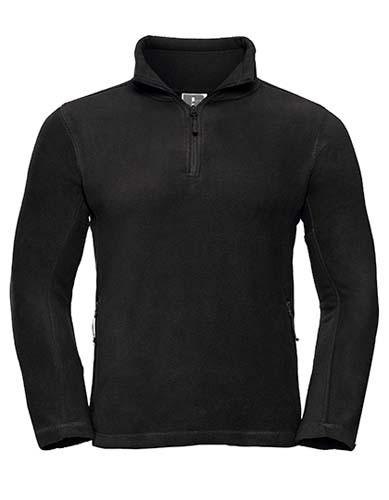 Quarter Zip Outdoor Fleece_Black
