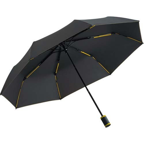 Taschenschirm FARE®-Mini Style_schwarz-gelb