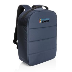 "Anti-Diebstahl 15,6"" Laptop-Rucksack blau"