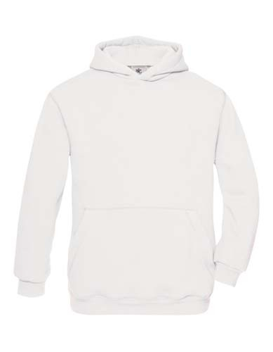 Hooded Sweat / Kids_White