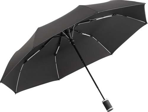 Taschenschirm FARE®-AC-Mini Style_schwarz-weiss