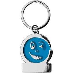 Mac-97777 Schlüsselanhänger Gesicht_blau