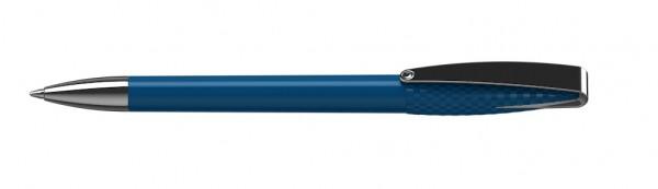 Kugelschreiber Cobra-structure mittelblau