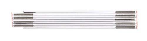Stabila-1607 Zollstock Serie 600 weiß, 2m