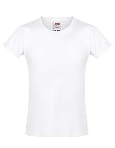 Girls Sofspun® T_White