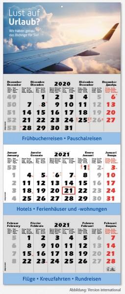 SPEZIAL   flatbarer 3-Monats-Kalender