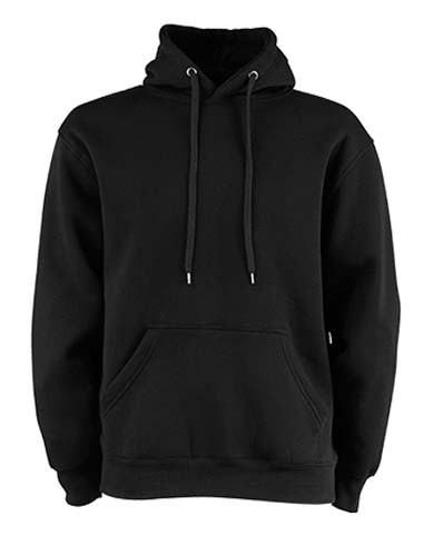TJ5430 Hooded Sweatshirt_Black
