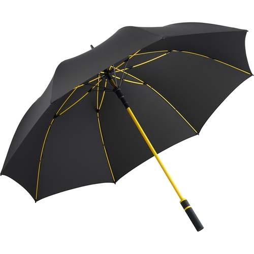 AC-Gästeschirm FARE®-Style_schwarz-gelb