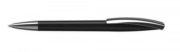 Drehkugelschreiber Arca high gloss Mmn schwarz