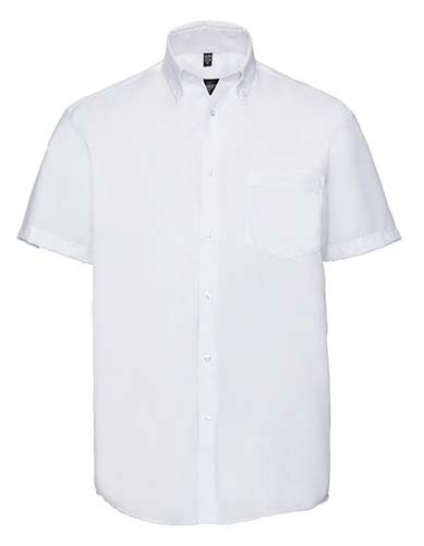 Men`s Short Sleeve Classic Ultimate Non-Iron Shirt_White