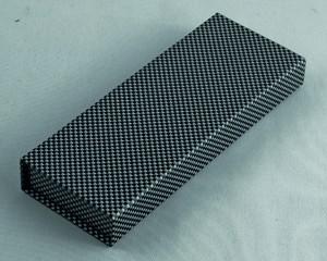 Carbon-Look | Magnetverschluss | Velour-Einlage