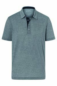 L-JN754 Men`s Polo Bicolor