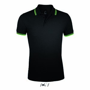 L591 Polo Shirt Männer Kurzarm Mehrfarbig