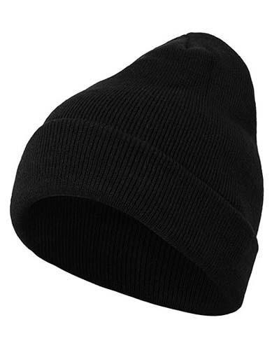Heavy Knit Beanie_Black
