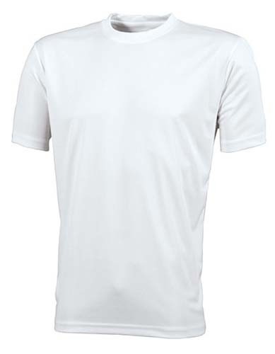 JN358 Men`s Active-T_White